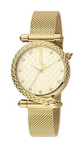 Just Cavalli Uhr Damen Gold