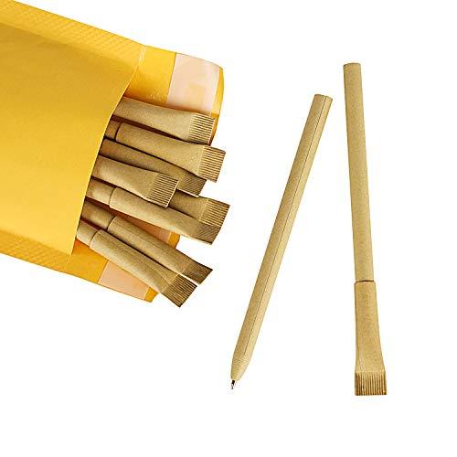 Zog Kraft Paper Barrel Writing Pen,Eco-Friendly Pens,Ballpoint Pen...