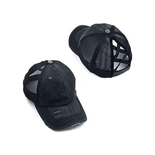 MIFASA Gorra de béisbol para mujer, con protección solar