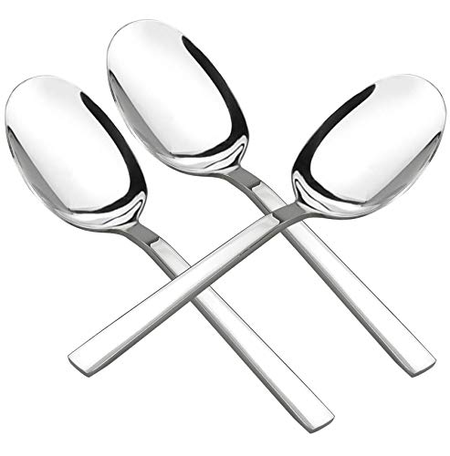 Doryh Stainless Steel Banquet Serving Spoons, Set of 6