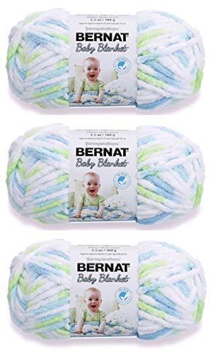 Bernat Baby Blanket Yarn (3-Pack) Funny Prints 161103-03233