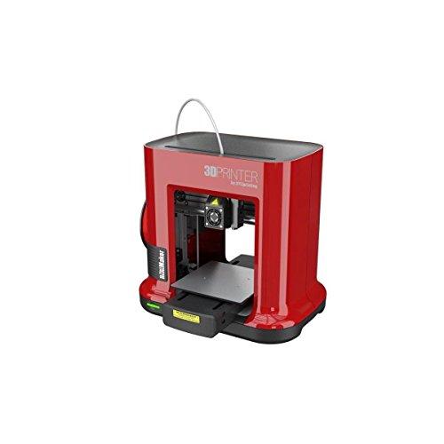 XYZ Printing Imprimante 3D Da Vinci Mini Maker RED - 1 Buse - USB 2.0 - PLA - 1,75mm - Rouge