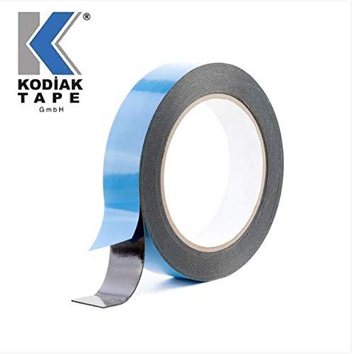 Klebeband Doppelseitiges PE Schwarz Schaumband 19mm x 50m Dichtungsklebeband Foam Tape (EURO 0,119 /m)