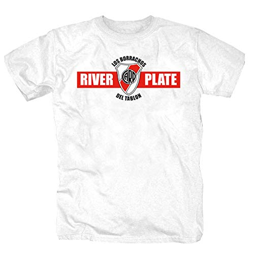 River Plate Calcio Ultras Argentina Ultra Buenos Aires Camicia Maglietta Shirt Polo T-Shirt XL