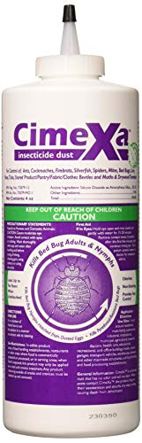 Rockwell Labs CXID032 Cimexa Dust Insecticide, 4oz, White