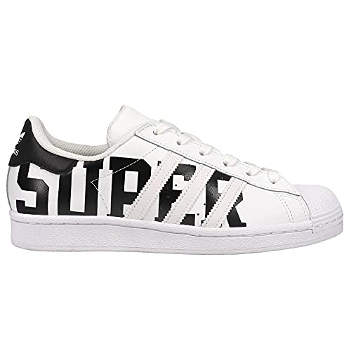 adidas Kids Boys Superstar Lace Up Sneakers Shoes Casual - Black,White - Size 5 M