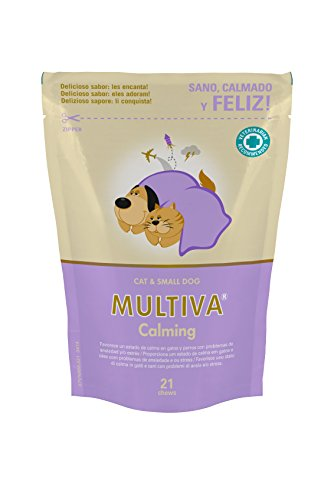Vetnova Multiva Calmante Natural para Gatos - 21 Chews 🔥