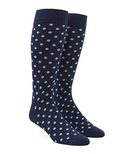 The Tie Bar Circuit Dots Spearmint Men's Cotton Blend Dress Socks
