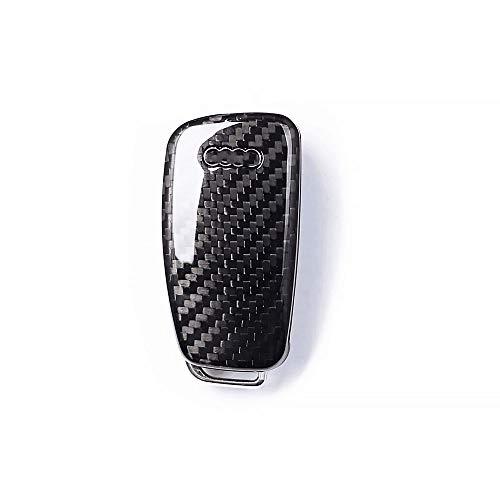 Kohlefaser-Gehäuseabdeckung für Audi Funk-Klappschlüssel