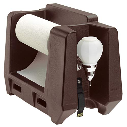 Cambro HWAPR131 Dark Brown Handwashing Accessory soap and Paper Towel Dispenser Case of 1