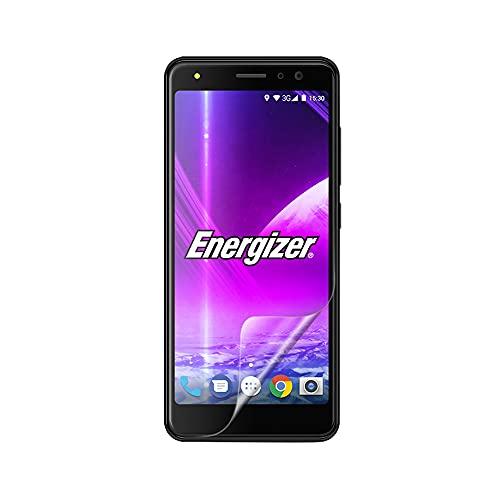 Celicious Vivid unsichtbare, glänzende HD-Schutzfolie, kompatibel mit dem Energizer Power Max P490 [2er Pack]