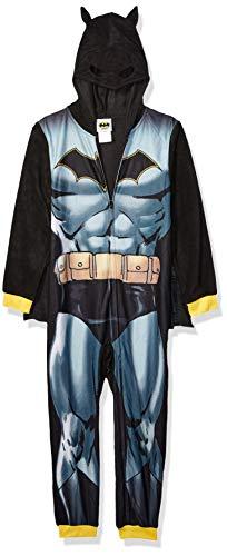 DC Comics Boys' Big Superhero Fleece Blanket Sleeper, Batman, M