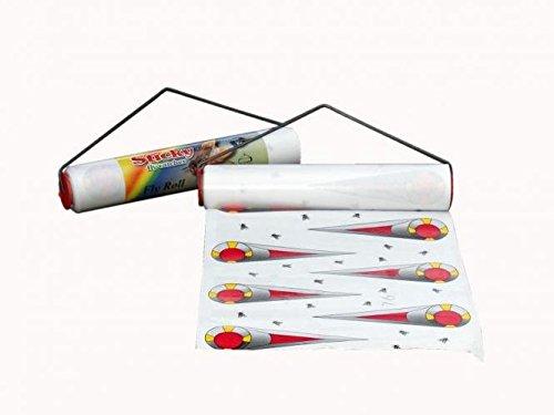 ARNDT mouche rôle Colle en rouleau Sticky Fly Roll 2,5 m x 20 cm