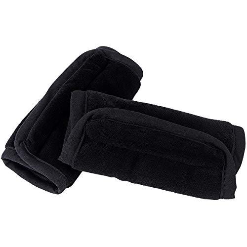 SQINAA Car Seat Belt Pads Soft Leather Car Safety Strap Covers Neck Mat Seat Belt Shoulder Pad,Beige