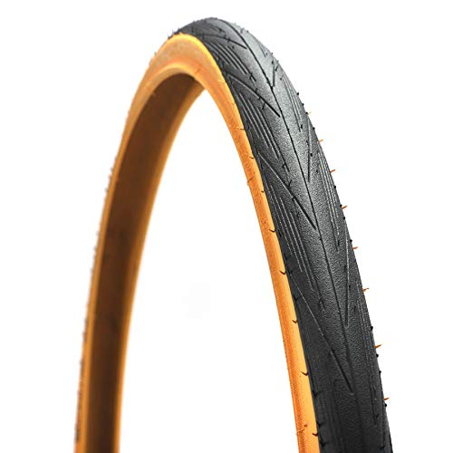 Byrhgood Neumático de Bicicleta 700C 700 * 25C Llantas de Bicicleta de Carretera Nivel 3 Protección Ultralight 365G Neumáticos de Ciclismo Baja Resistencia (Color : 2 Pieces)