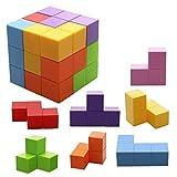 Jhua Blocs de Construction Magnétique Jouets Cube Construction Magique Cubes de Construction Jeux Bebe Cube Anti Stress...