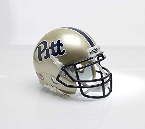 Schutt Sports NCAA Pittsburgh Panthers Replica Football Helmet, 1976 Throwback