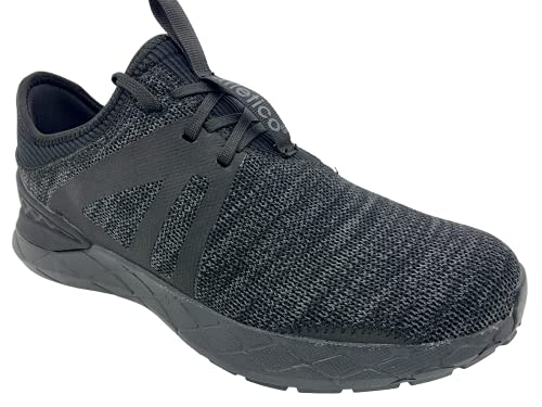 Atletico Men's Sports Shoes, Lightweight, Breathable Sports Shoes, Trainers, Men's Running Shoes, Leisure Shoes for Outdoor Fitness, Sports Hall, Walking Shoes, EU 41-46 Black Size: 10 UK