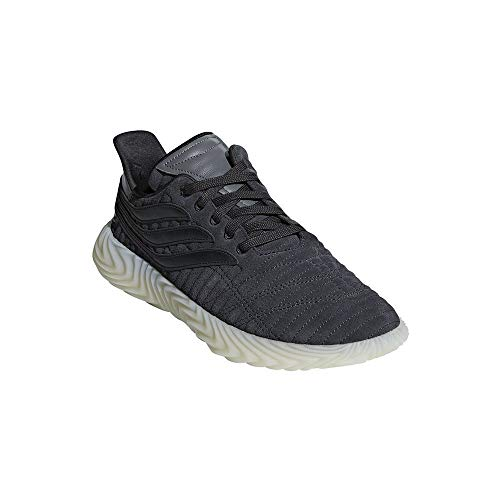 Adidas SOBAKOV, Zapatillas de Deporte Hombre, Gris (Carbon/Negbás/Ftwbla 000), 42 2/3 EU