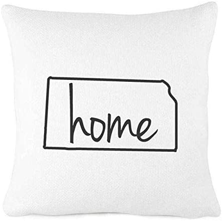 Amazon Com Hmlover Tm Create For Life Cotton Linen Decorative Pillowcase Throw Pillow Cushion Cover Square 18 Retro Bold Waves Home Kitchen