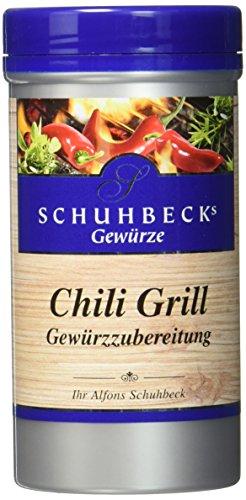 Schuhbecks Chili Grill Gewürz, 3er Pack (3 x 125 g)