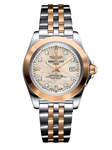 Breitling Galactic 32 Sleek Edition Pearl & Diamond Dial reloj de mujer C7133012/A803-792C