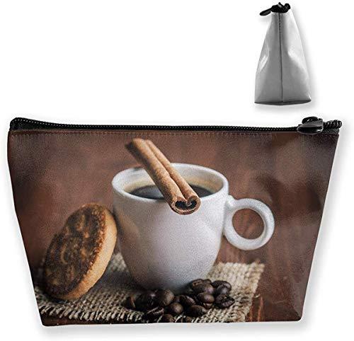 Trapez-Kulturbeutel Tragbare Reisetasche Kekse Morgen-Tee-Make-up-Tasche