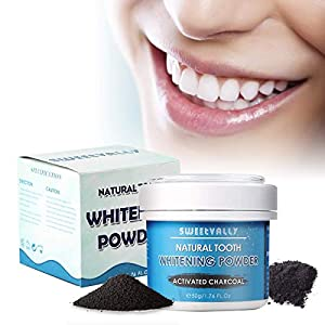 50g Activated Charcoal Natural Teeth Whitening Powder