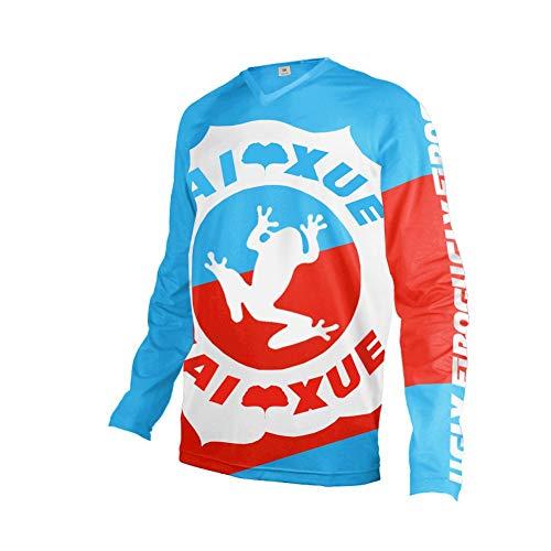 UGLY FROG 2020-2021 Winter Thermo Herren Mountainbike Downhill Freeride BMX Trikot Shirt Motocross Lange Ärmel MTB/Downhill Cycling Jersey Triathlon Bekleidung FZR08