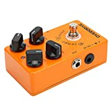 Overdrive Effect Pedal, Portable Guitar Overdrive Pedal for Music School for Music Club