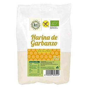 SOLNATURAL HARINA DE GARBANZO SIN Gluten Bio 500 g, No aplicable