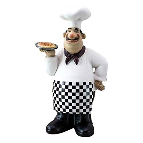 LBYLYH Ornament Chef Snares Pizza Decoraties In Het Westen Restaurant, Cafés, Brood Dessert Winkels.