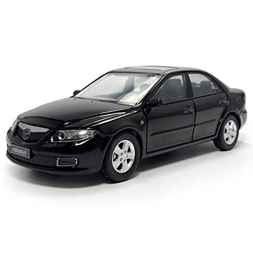 1:32 para Mazda 6 Modelo De Coche De Simulación De Vehículo De Aleación De Fundido A Presión Modelo De Coche Juguetes De Regalo para Niños Negro Juguetes Coches