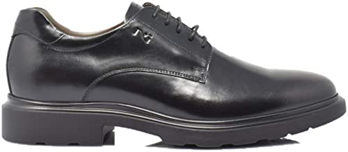 schwarz Giardini Derby - Piel Brillante, Farbe schwarz, 44