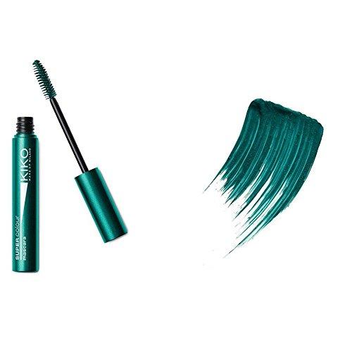 Kiko Milano Super Colour Mascara Nr. 06 Lawn Green/Rasengrün Inhalt: 8ml Volumen Mascara mit intensiven Farb-Effekt für volle Wimpern. Wimperntusche