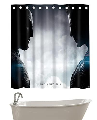 YHNM Polyester Anti-Schimmel Duschvorhang,Superman Aogham-1_72