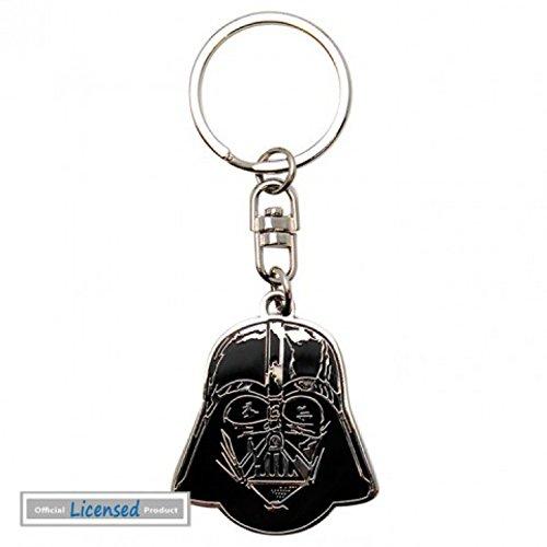 1art1 Star Wars - Darth Vader, Kopf Fan-Schlüsselanhänger 4 x 3 cm
