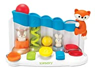 Three Ways to Play: Sounds & Sights: Baby discovers fun sounds and cute movements by activating the five switches, building fine motor skills along the way Music: Baby can create a song by pressing, turning, or pulling the switches in sequence Follow...