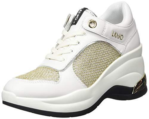 Liu Jo Shoes Damen Karlie Revolution 20 Sneaker, Weiß (White 01111), 38 EU