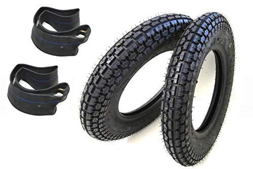 Reifen Satz K303A 3.00-10 42J inkl. Schlauch für Vespa PK 50 125 XL Roller