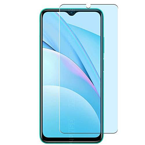 Vaxson 3 Unidades Protector de Pantalla Anti Luz Azul, compatible con XIAOMI Redmi Note 9 4G [No Vidrio Templado] TPU Película Protectora