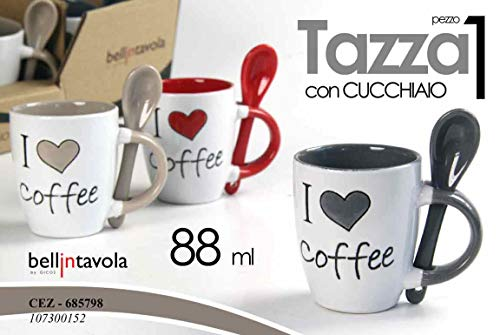 Gicos srl - gico/tazza+cucch.iloveyou