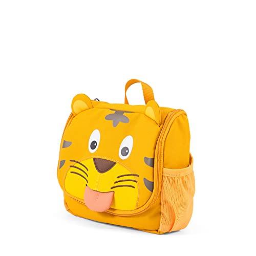 Affenzahn Kulturtasche Tiger für 1-3 Jährige Kinder im Kindergarten - Gelb