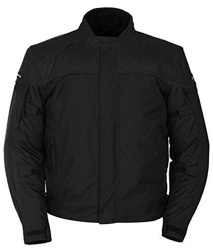 Tourmaster 'Jett Series 3' Mens Black Textile Jacket