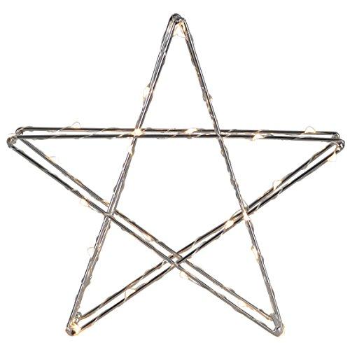 Star 700-57 Super Luminaire à DEL, Métal, Argent, 7.5 x 25 x 23.5 cm