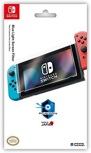 Hori Pellicola Schermo Anti luce Blu Per Nintendo Switch - Ufficiale Nintendo - Nintendo Switch