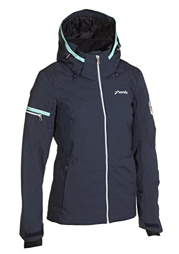 Phenix Damen Eternal Jacket Skijacke, Indigo, 36