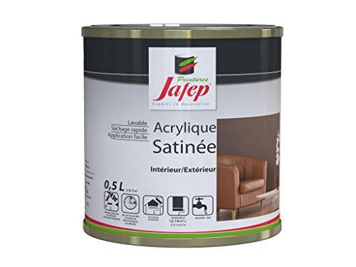 Jafep 21832331 - Vernice acrilica satinata, colore: Giallo canarini