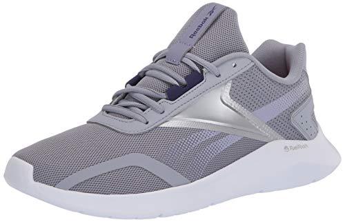 Reebok womens Reebok Energylux 2.0 Running Shoe, Cool Shadow/White/Silver, 8.5 US