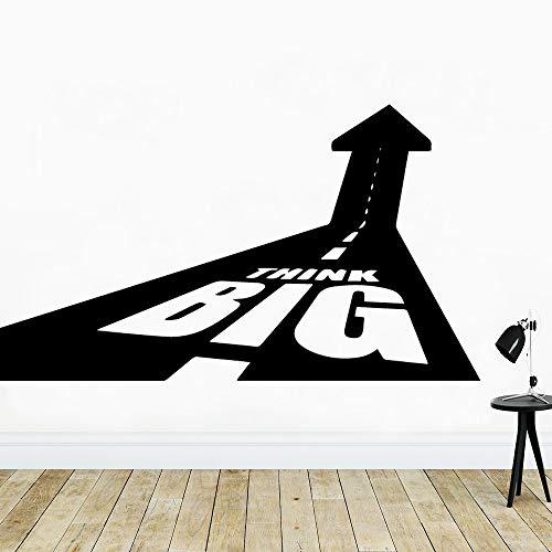 SLQUIET Décoration de chambre d'enfant pour enfants Papier peint de pensée Autocollant Étanche Autocollants En Vinyle Autocollants Décoratifs Stickers Muraux Autocollants Muraux Pourpre L 42cm X 74cm